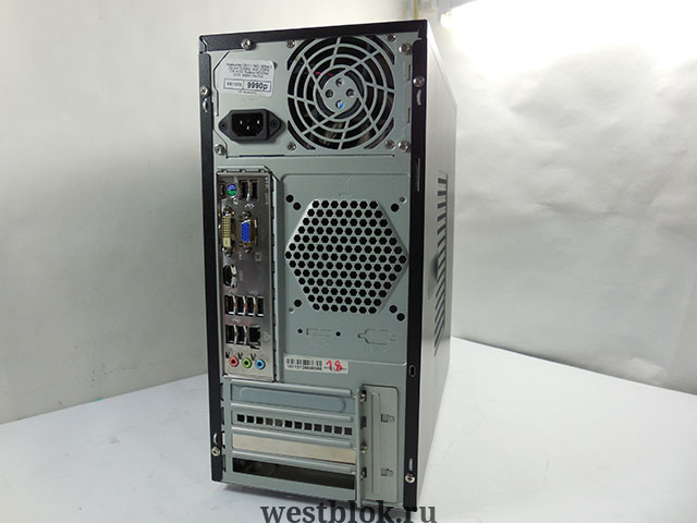 MB GigaByte GA-8IG1000MK/L (OEM) Socket478 <i865G> AGP /SVGA /LAN SATA MicroATX 4DDR <PC-3200&gt.
