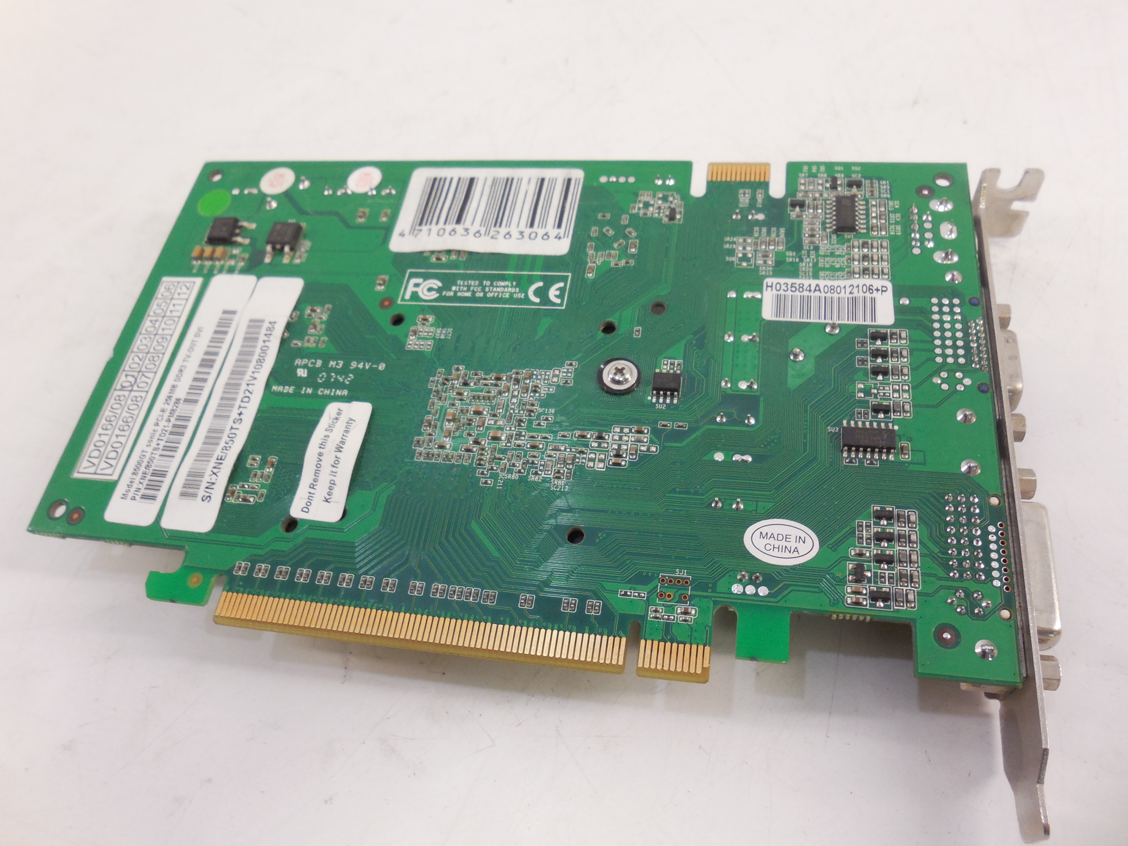Видеокарта pci-e palit geforce 8500gt sonic /256mb /ddr3 /128bit /dvi /vga /tv-out /silent