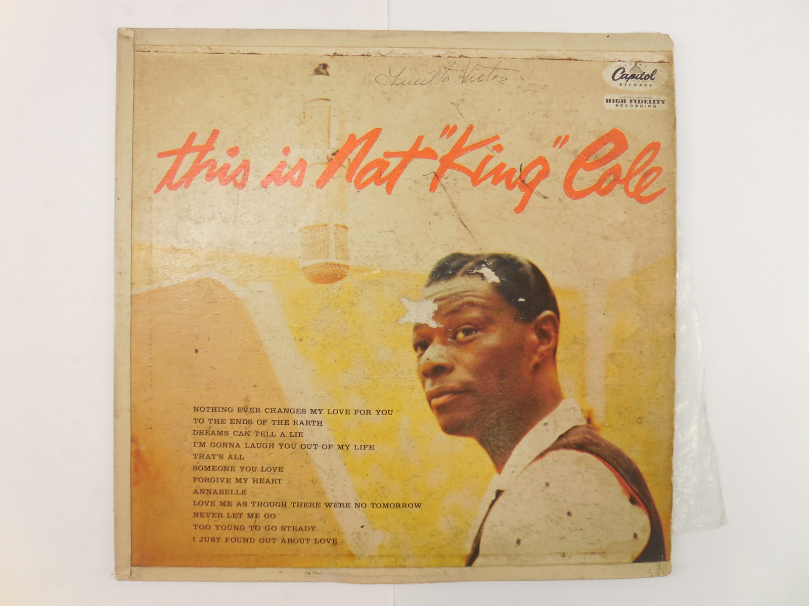Пластинка This Is Nat King Cole - Pic n 261205