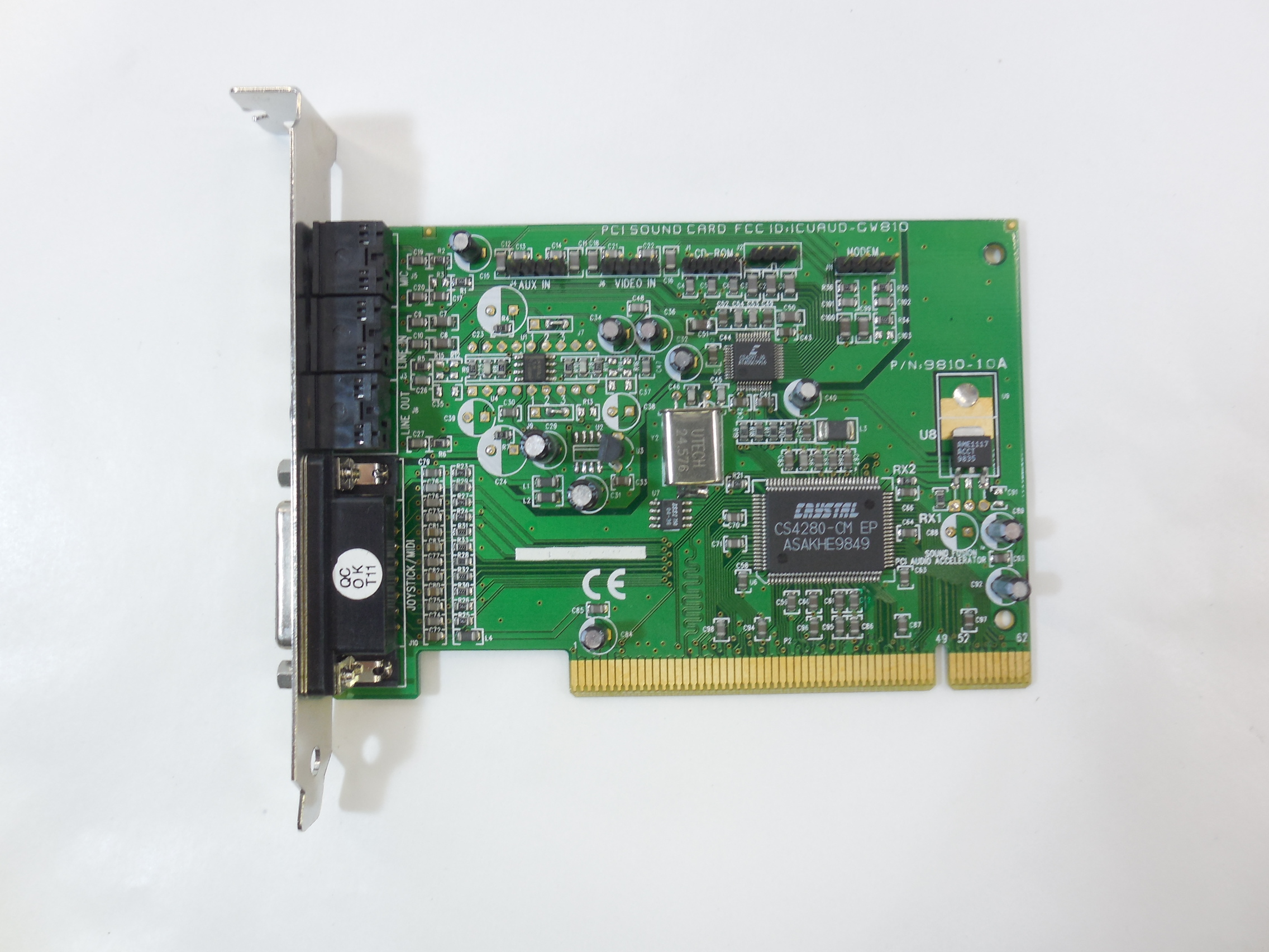 Crystal cs4624 cq sound driver