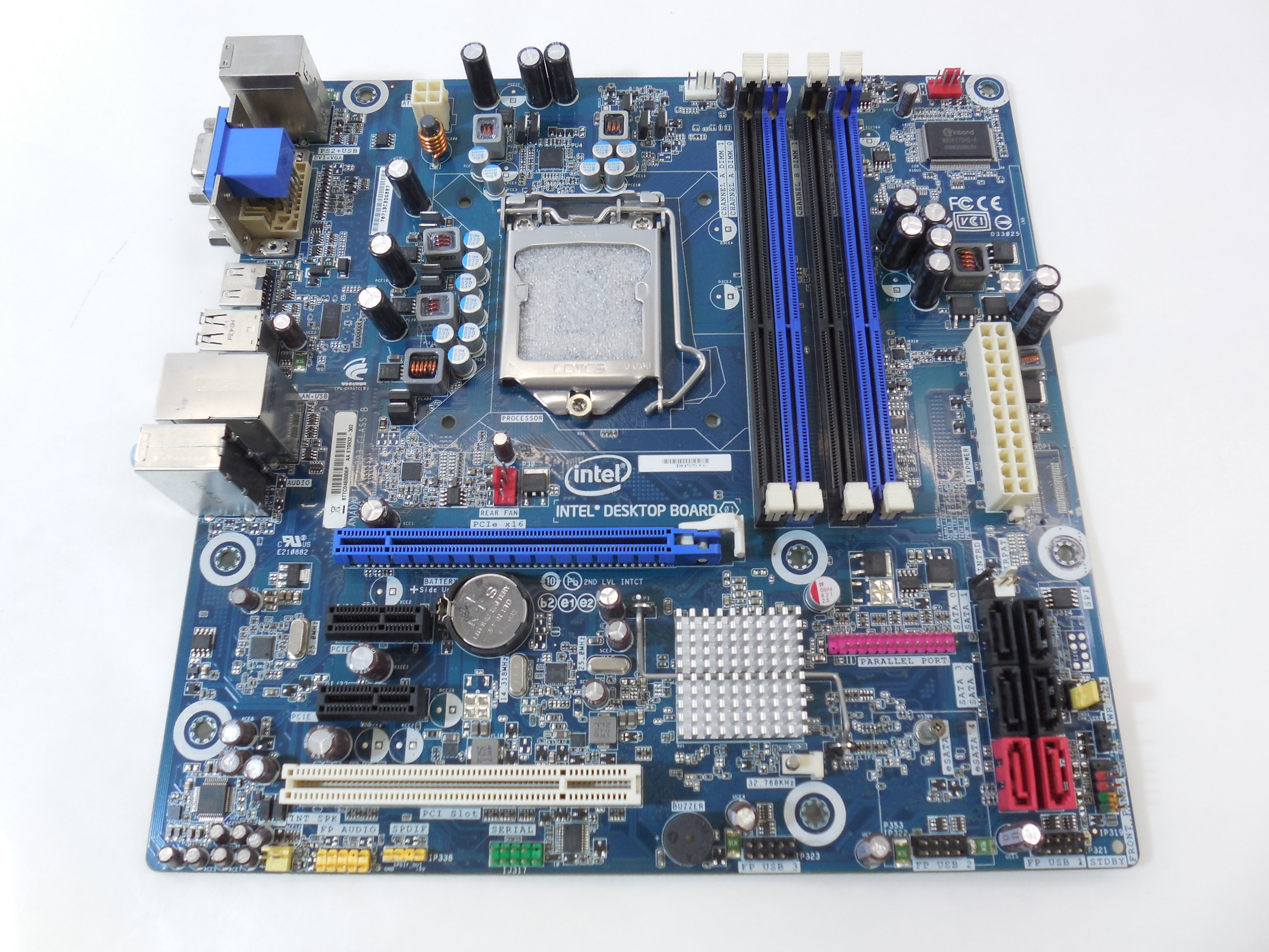 Материнская плата MB Socket 1156 Intel DH55TC - Pic n 270042 ...