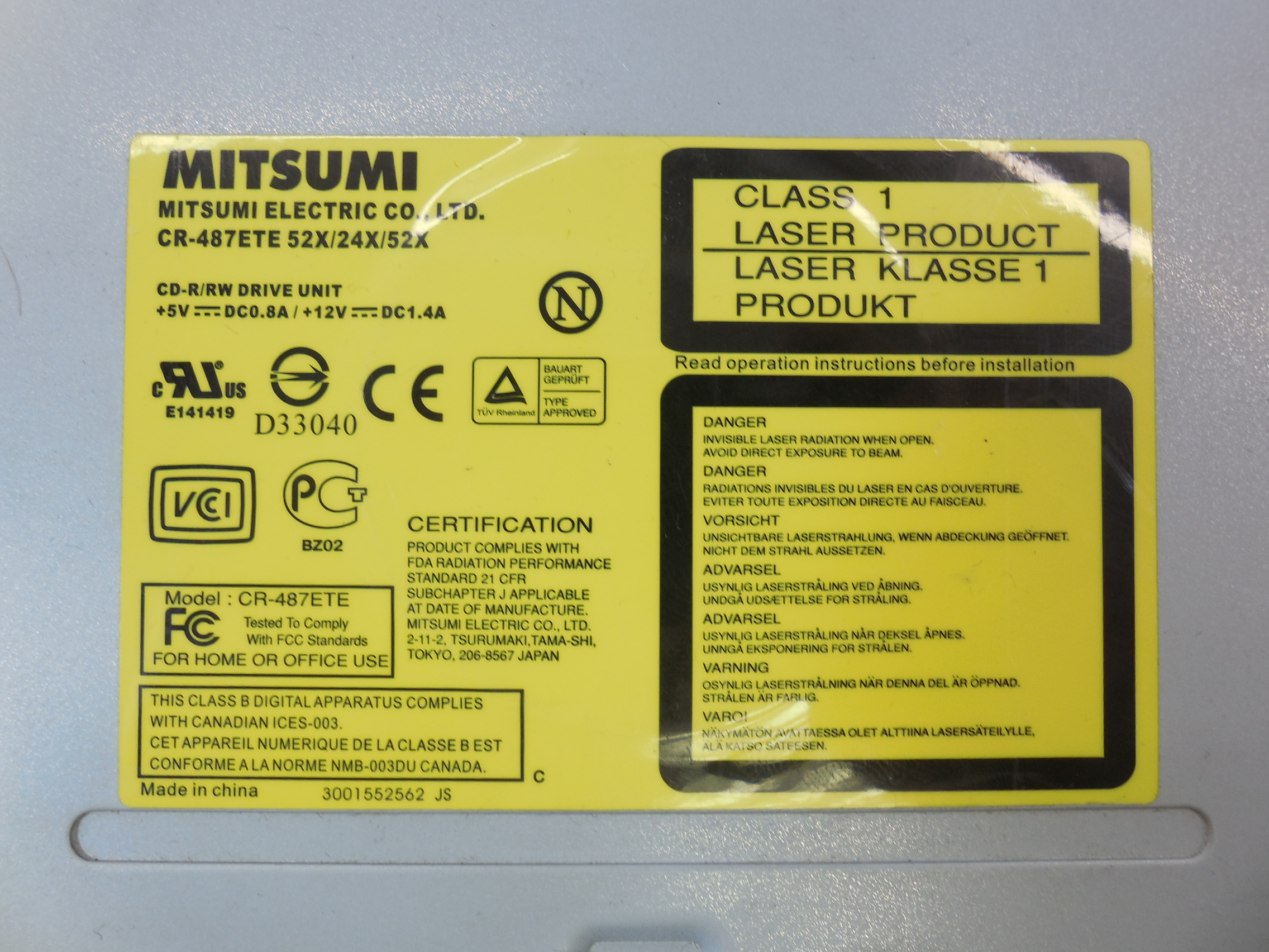 MITSUMI CRXATE USB Device - drivers for windows xp FOUND