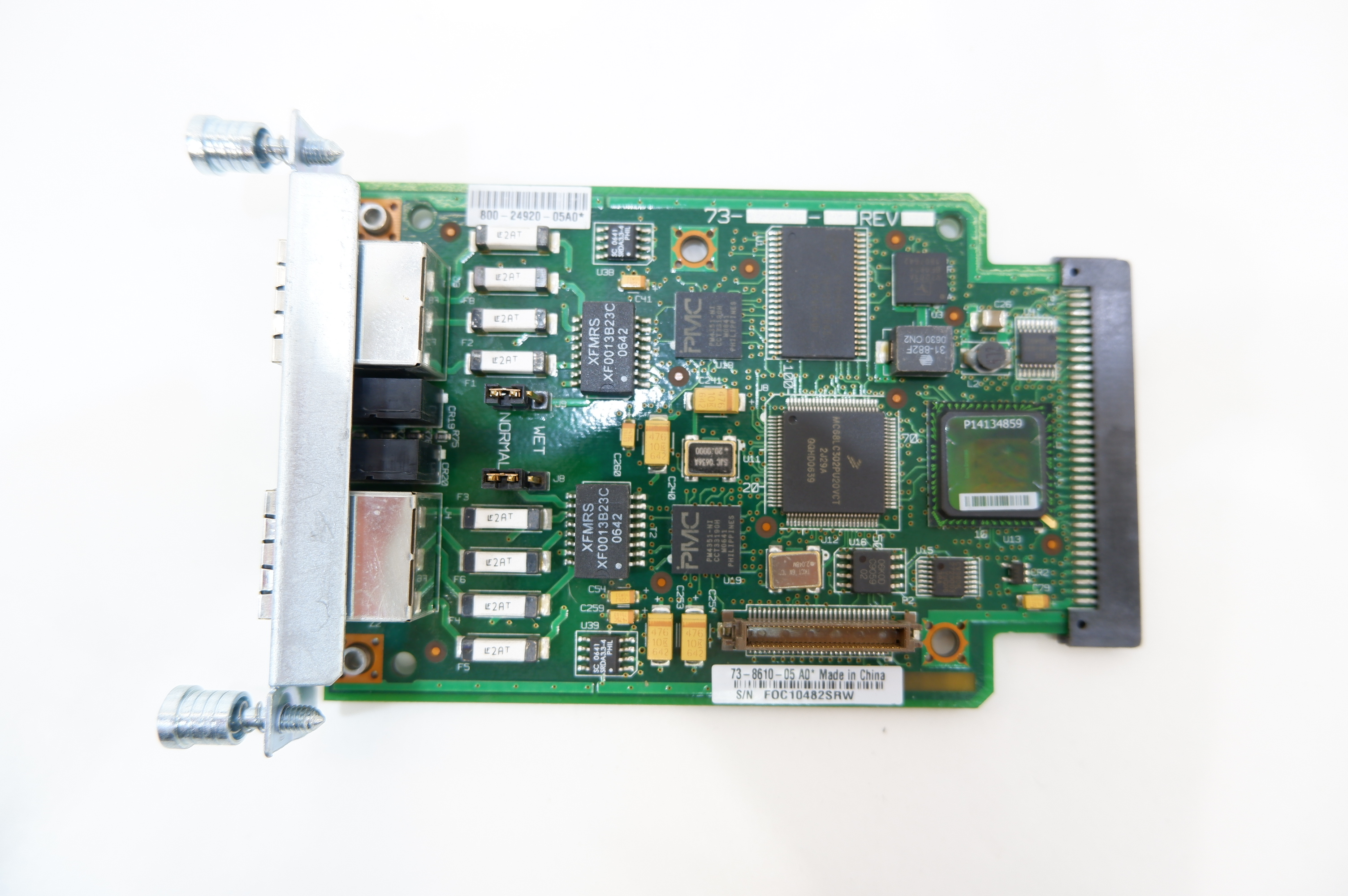Модуль Cisco VWIC2-2MFT-G703 - Pic n 285228