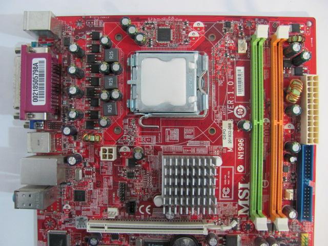 Материнская плата HannStar J MV-4 DABL5SMB6E0 (Rev.  E) /от ноутбука Toshiba Satellite P300, A300 /Нерабочая.
