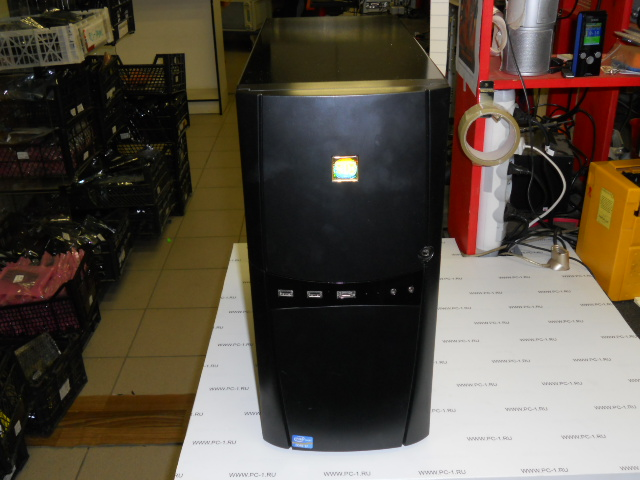 Компьютер Intel Core i7-2600 (3.4GHz) /DDIII 8Gb /HDD 2Tb /MB ASUS P8P67 LE /Video Radeon HD6970 2Gb /DVD-RW /CardReader /Sound /USB 3.0 /LAN /ATX черный 600W /Win7 64bit Лицензия /Гарантия до 05.07.2