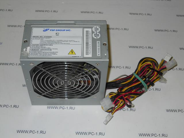 Блок питания ATX 400W FSP Group INC ATX400N: http://pc-1.ru/i_shop/case/bloki_pitaniya_atx/bp_ot_400w_i_bolee/a035399