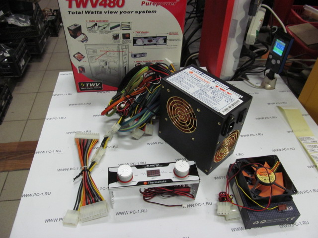 Блок питания ATX 480W Thermaltake PurePower TWV