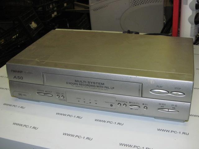 Инструкция по записи на видеомагнитофон sharp vc a50