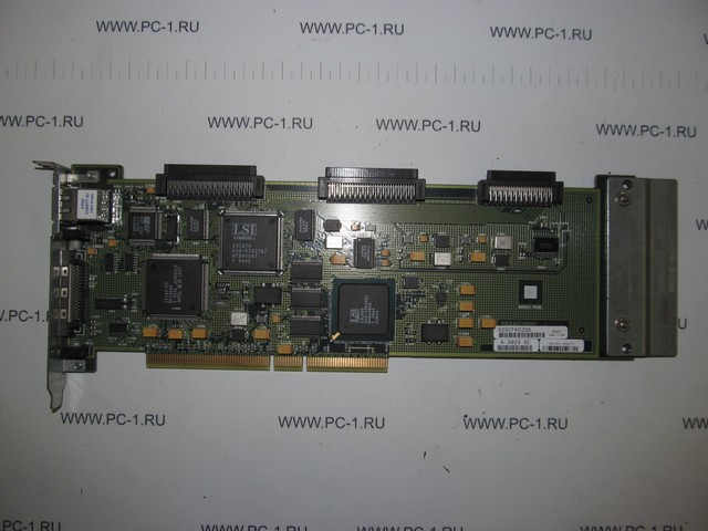 Контроллер HP L-class 10/100Base-T LAN 4-Port Ultra2 LVD SCSI RAID Controller for the9000 server Mfr P/N A5191-60011 PCI-X