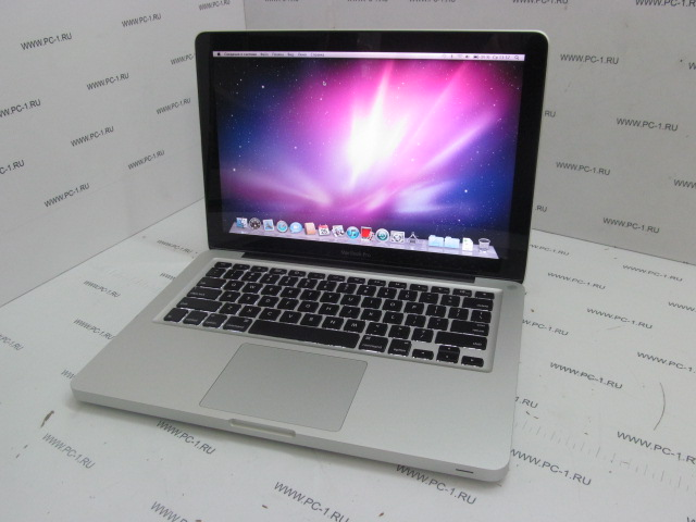 "Ноутбук Apple Macbook Pro A1278 (MC375RS/A) Intel Core 2 Duo (2.4GHz) /DDR3 4Gb /HDD 250Gb /TFT 13.3"" (1280 x 800) /Video GeForce 320M 256Mb /DVD-RW /Wi-Fi /Bluetooth /Web-Cam /LAN /2xUSB /1394 /"