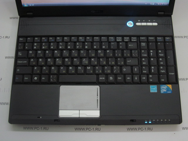 "Ноутбук Aquarius Cmp NE515 Intel Core 2 Duo T7550 (2.26GHz) /DDR2 2Gb /HDD 300Gb /TFT 15.4"" (1280x800) /Video Intel GMA 4500HD 781Mb /DVD-RW /LAN /Modem /VGA /4xUSB /Wi-Fi /CardReader /ExpressCar"