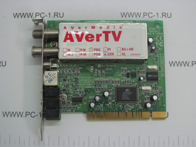 52 matches found for AVerTV M168-U 0405AAL2 (0.10499 sec)