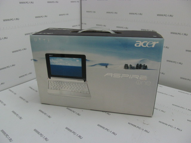 "Нетбук Acer Aspire One ZG5 Intel Atom N270 (1.6GHz) /DDR2 512Mb /HDD 20Gb /TFT 8.9"" (1024x600) /Video Intel GMA 950 250Mb /Без DVD /WebCam /Wi-Fi /3xUSB /VGA /LAN /CardReader /Win XP Home лицензи"