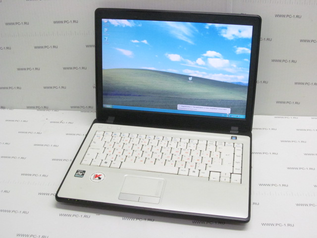 "Ноутбук RoverBook B410 AMD Athlon X2 QL-62 (2.0Ghz) /DDR2 1Gb /HDD 160Gb /TFT 14.1"" (1280х800) /Video ATI Radeon HD 3200 384Mb /Wi-Fi /3xUSB /DVD-RW /LAN /Modem /HDMI /VGA /CardReader /ExpressCar"