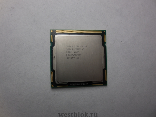 Процессор Intel Core i5-760 2.80GHz