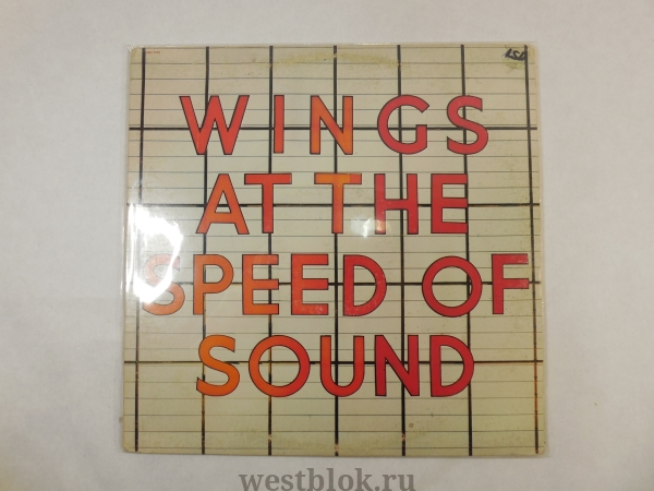Грампластинка Wings — Wings at the Speed of Sound - Pic n 68411