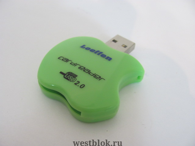 Картридер Loeffen Lf-CP-759 SD to USB 2.0 - Pic n 83321