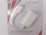 Кабель USB OTG Apple 8pin Lightning