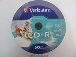 Компакт-диск Verbatim CD-R 700Mb