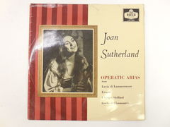 Пластинка Operatic arias Joan Sutherland
