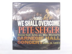 Пластинка Pete Seeger ‎– We Shall Overcome