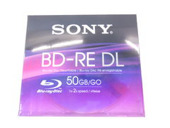 Диск Blu-Ray BD-RE DL Sony 50Gb BOX 1шт