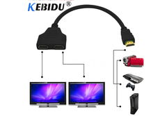 Сплиттер (splitter) HDMI 1 в 2 длинна 30см