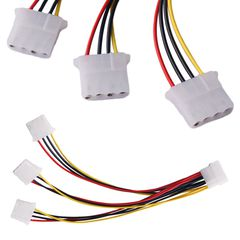 Разветвитель 1x Male Molex to 3x Female Molex
