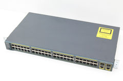 Коммутатор Cisco WS-C2960-48TC-S