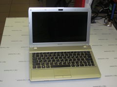 "Нетбук Sony VAIO PCG-31312V (VPCYB3Q1R) /AMD E450 (1.65GHz) /DDR3 2Gb /HDD 320Gb /LED 11.6"" (1366x768) /Video AMD Radeon HD6320 384Mb /Web-Cam /Wi-F /Bluetooth /MagicGate /CardReader /VGA /HDMI /"