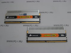 Модуль памяти DDR2 KIT 2Gb (2x1Gb) Corsair XMS2