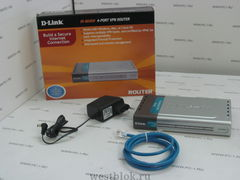 Маршрутизатор (router) D-link DI-804HV